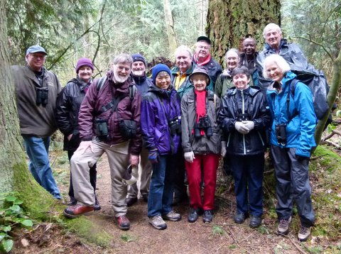 Pacific Spirit participants