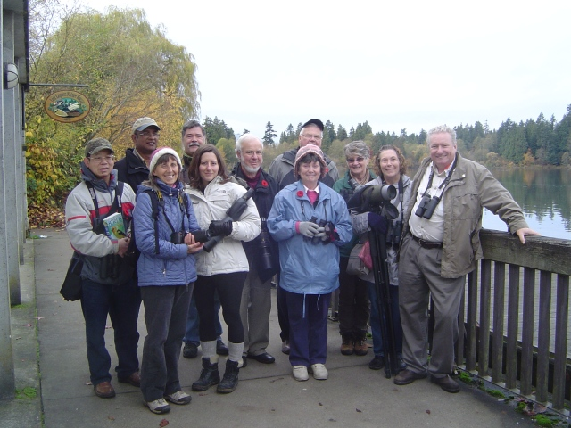 DNCB eleven at the Nature House, Lost Lagoon on Remembrance Day
