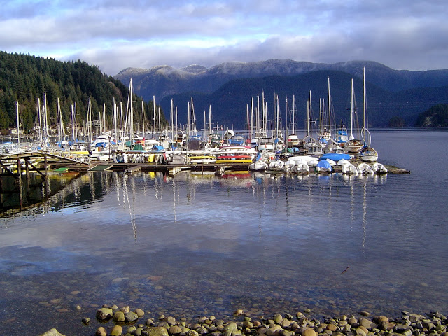 Deep Cove Harbour by Glen Bodie
