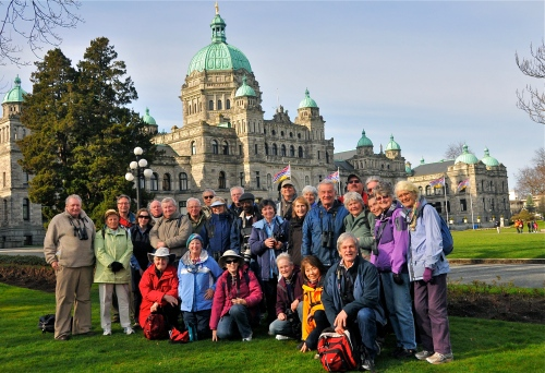 DNCB in front of BC Legislature, Victoria (click on photo to see large version)