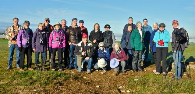 DNCB at Blackie Spit (KB) - missing Al, Wim, Leona