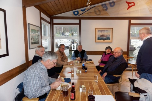 Lunch at the Mermaid Inn (Royal Vancouver Yacht Club) (TM)