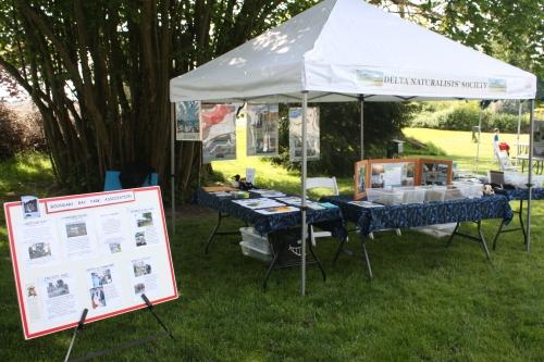DNS display at Delta Regional Heritage Fair (TC)