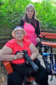 latecomers Maureen & Pat (KB)
