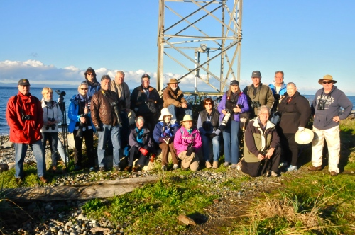 18 DNCB at Lighthouse Marine Park, Point Roberts (minus 9 latecomers)