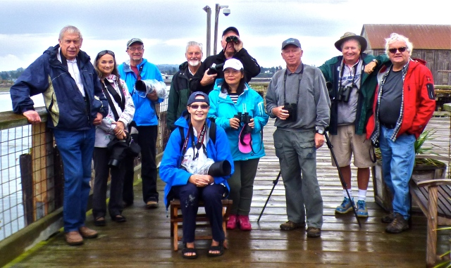 DNCB group at Semiahmoo Bay - photo by Roger (click on photo to see large version)
