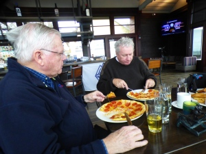 Mike & Tom with Pizzas (RM)