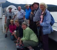 DNCB on Bowen Island ferry (photo by Roger Meyer)